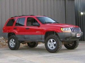 Red Grand Cherokee