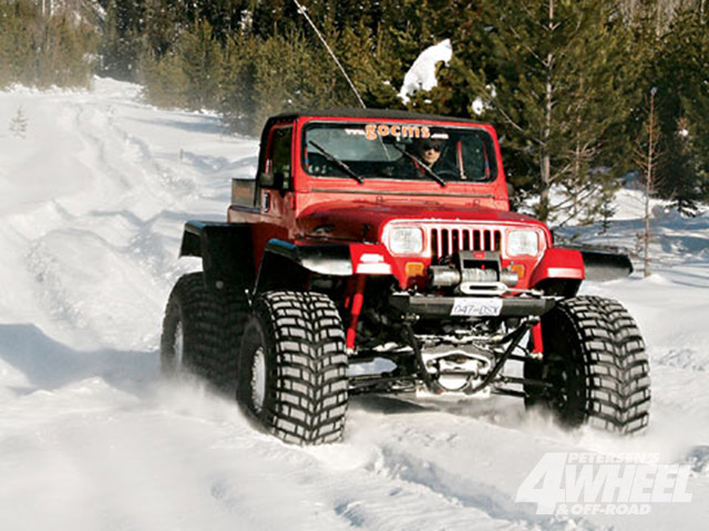 Off Roading In A Winter Wonderland Extremeterrain Com Blog