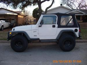 Mark's TJ with 3.25 Rough Country Lift Kit