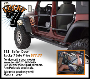Olympic 4X4 Safari Doors For 76-86 Jeep CJ & Olympic 4X4 Safari Doors For 76-86 Jeep CJ \u2013 ExtremeTerrain.com Blog