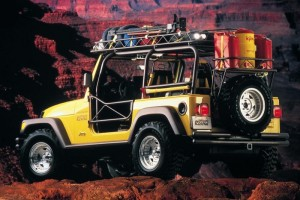 1997 Jeep Wrangler Ulitimate Rescue Concept