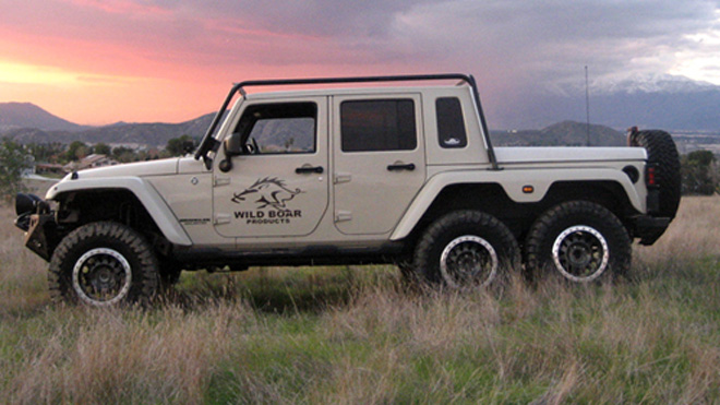 6-Wheel Jeep Wrangler by Wild Boar Products