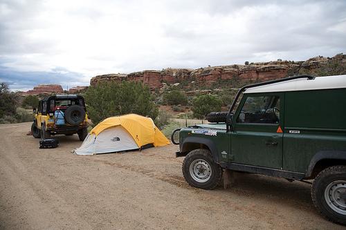 Jeep Wrangler Camping Trip in Utah