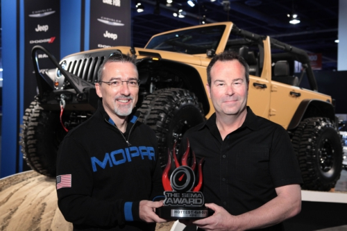 SEMA Hottest 4x4 SUV Award