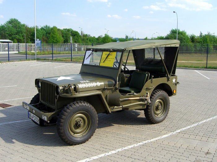 Old WWII Jeep