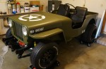 1952 Jeep Willys with LS1 Engine