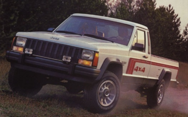 Poster of 1985 Jeep Comanche