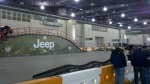 2013 Jeep Wrangler Exhibit at philly auto show