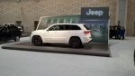 Jeep Exhibit at 2013 philly auto show with jeep grand cherokee