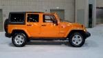 Jeep Wrangler at the 2013 Philadelphia Auto Show