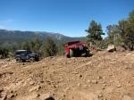 Jeep Wranglers at Big Bear Lake, CA
