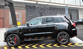 Black Edition Jeep Grand Cherokee for Chinese Market