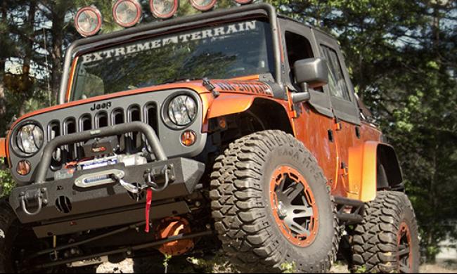 Jeep Wrangler JK Off Roading