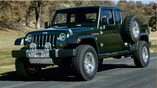 Possible 2016 jeep Wrangler pickup Truck