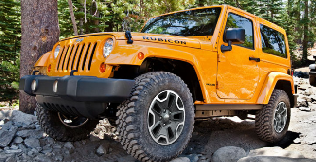 2014 Wrangler Jeep Rubicon