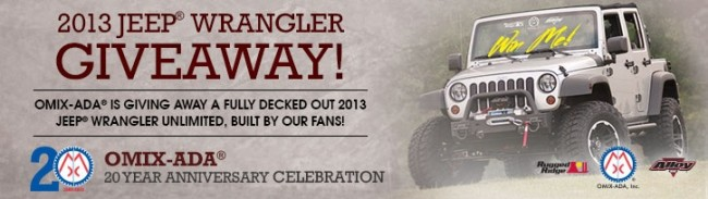 Win A Free Jeep Wrangler Contest