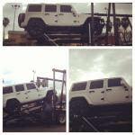 Loading Thad Young's Custom Matte White Jeep Wrangler