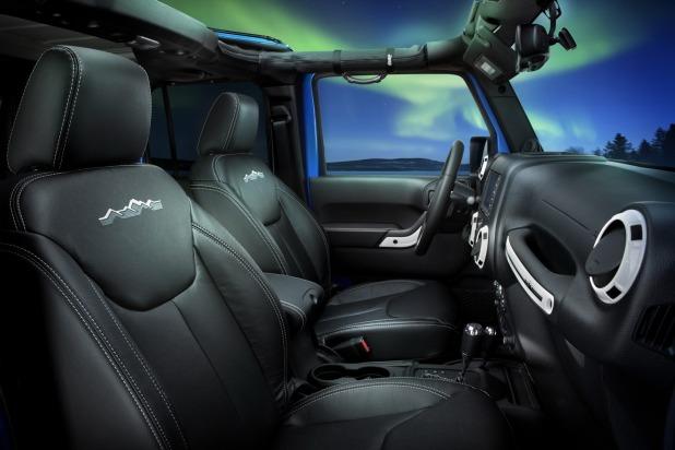 2017 Jeep Wrangler Interior Lights