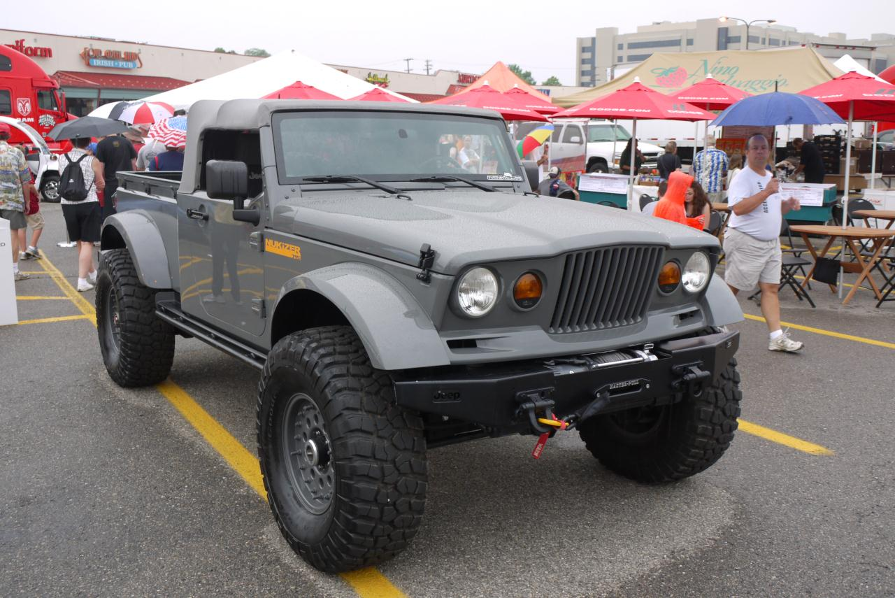 Latest Pickup Wrangler Concept From Jeep: Meet 'Nukizer ...
