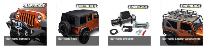 Barricade Parts