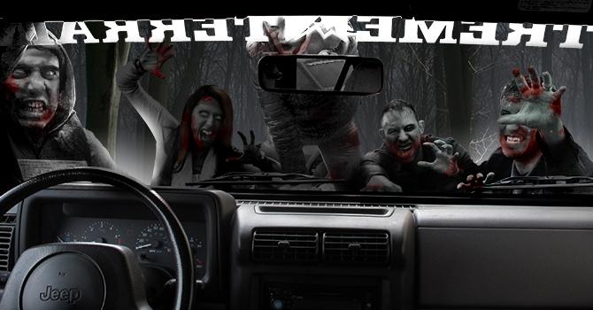 Jeep Wrangler Zombie