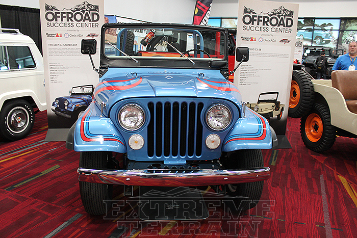 1973 Super Jeep at SEMA