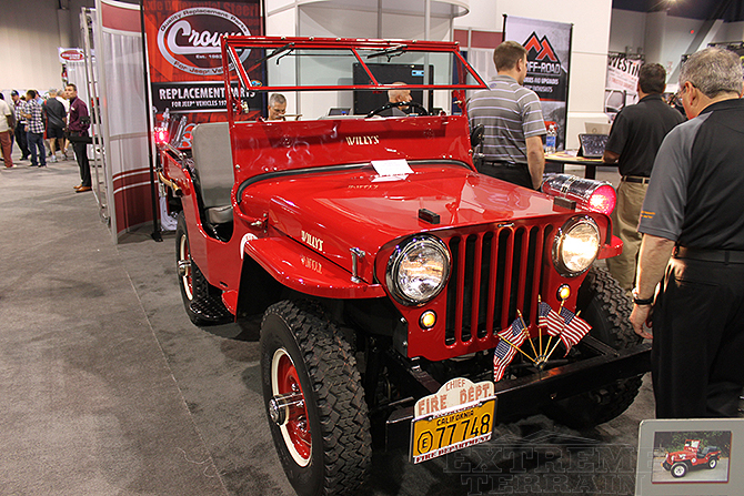 CJ Jeep Fire Truck SEMA