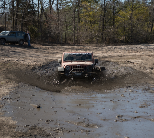Mud Bogging Wrangler