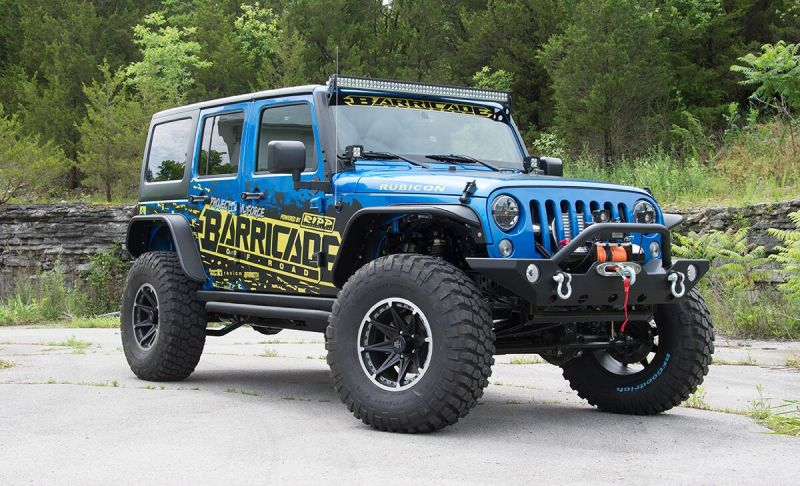 2015 JK Wrangler Project Trail Force Giveaway