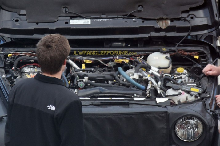 2018 Jeep Wrangler Hurricane Engine