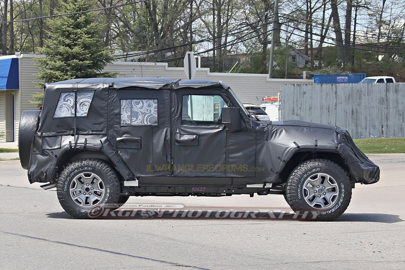 Exceptional 2018 JL Jeep Wrangler Aluminum Body Parts Revealed