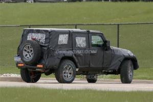 2018 Jeep Wrangler in Camo