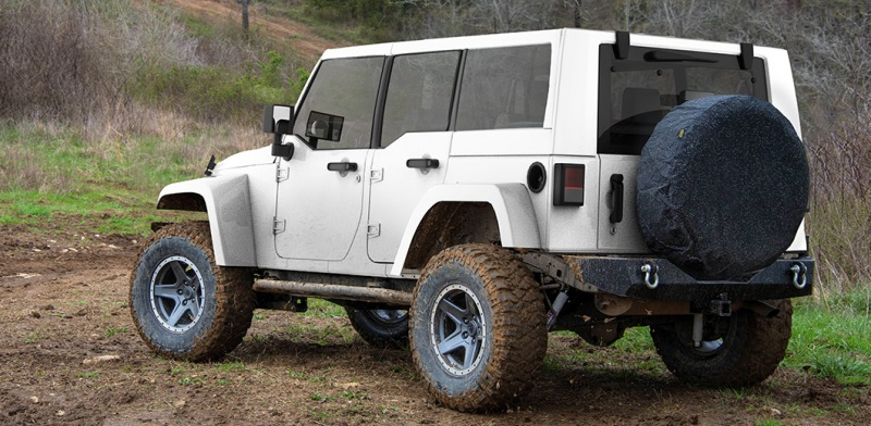 2018 jeep rubicon. delighful rubicon 2018 jeep wrangler rear side view on jeep rubicon