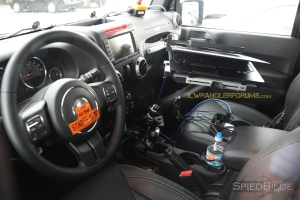2018 Wrangler Interior With Shifter