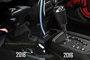 2018 Wrangler Automatic Transmission Shifter