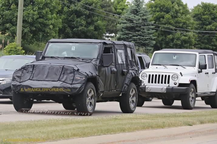 2018 Jeep Wrangler Testing