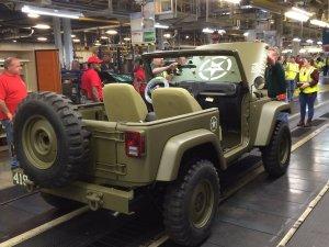 Wrangler Military Anniversary Jeep