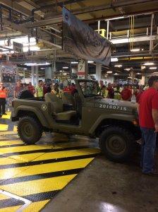 Jeep JK Wrangler Military Concept