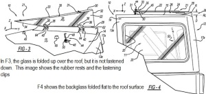 2018 Wrangler window patent