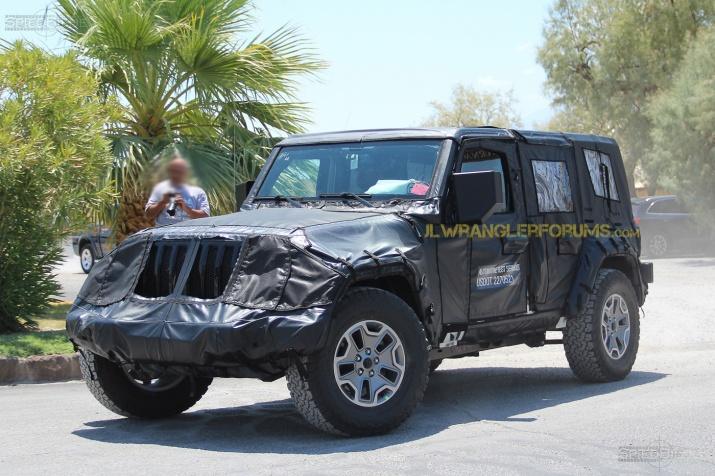 2018 Jeep Wrangler JL Testing