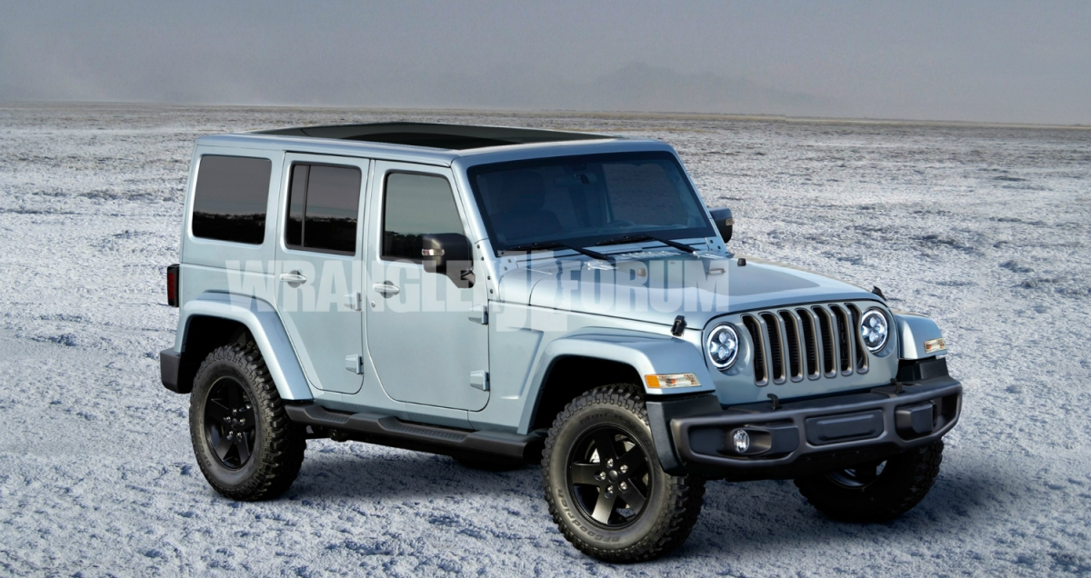 2018 JL Wrangler Confirmed Features & Updated Production Info