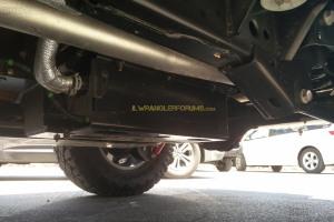 2018 Wrangler Diesel DEF Tank