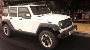 JL Wrangler Clay Model