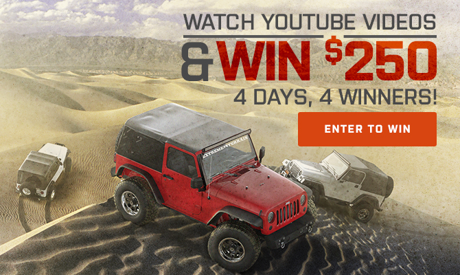 ExtremeTerrain Youtube Sweeps