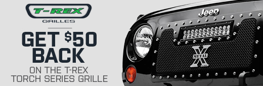 T-REX Torch LED Jeep Wrangler Grille Rebate