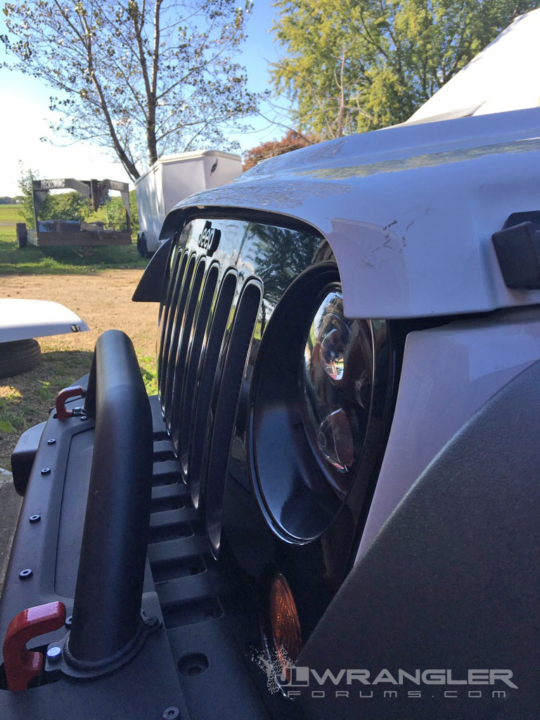 Jk Owner Gets Jl Hood Shipped To Him New Design Revealed 2006 Jeep Wrangler