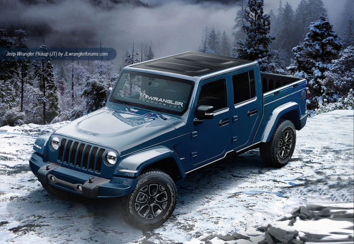 2019 Jeep JT Wrangler Pickup Truck