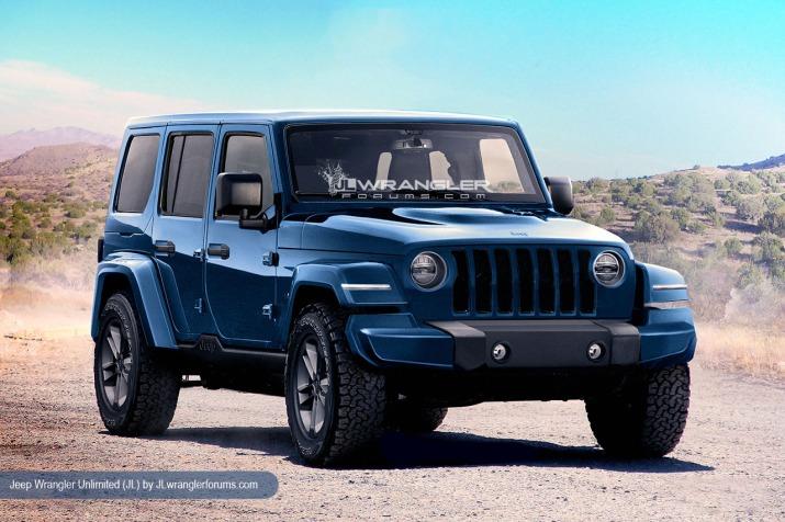 2018 Jeep JL Wrangler Image