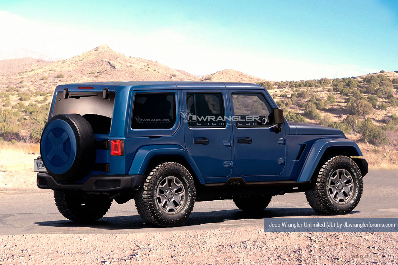 5 Things Were Excited About On The 2018 Wrangler Extremeterrain Jeep Pickup Concept Jl Rendering Image