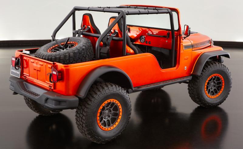 Jeep Wrangler Tj Build >> Jeep Builds A One-Off CJ-6 On A Wrangler Frame – ExtremeTerrain.com Blog